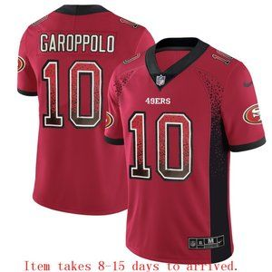 49ers #10 Jimmy Garoppolo Drift Jersey
